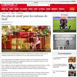 Pas plus de 200€ pour les cadeaux de Noël - 09/12/2015 - ladepeche.fr