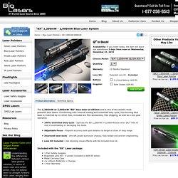 """BX"" 1,200mW - 2,000mW Blue Laser System - BigLasers.com"