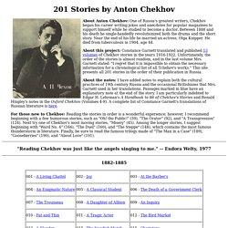 201 Stories by Anton Chekhov