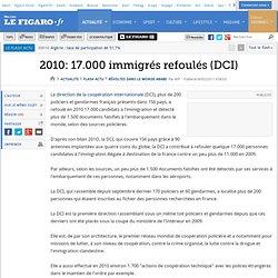 2010: 17.000 immigrés refoulés par la DCI