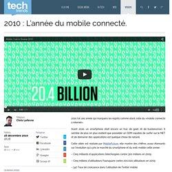 2010 : L'année du mobile connecté.