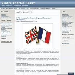 Entreprises francaises et anglaises