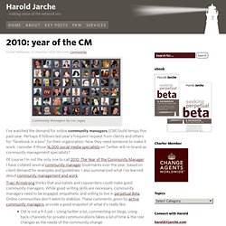 2010: year of the CM