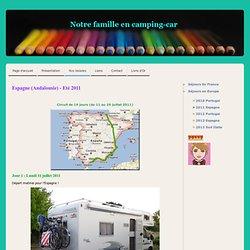 2011 Espagne - Voyage en camping-car