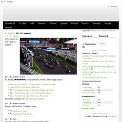 F1 2011 Season |