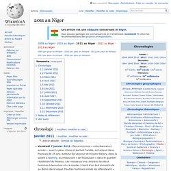 2011 au Niger