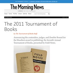 The 2011 Tournament of Books by ToB Staff