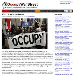2011: A Year in Revolt