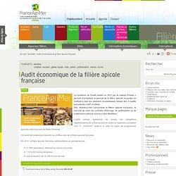 FRANCE AGRIMER 11/09/12 Audit économique de la filière apicole française