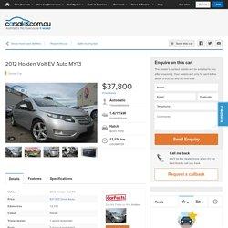 2012 Holden Volt EV Auto MY13
