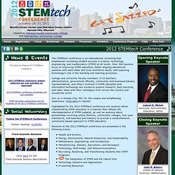 2012 STEMtech Conference