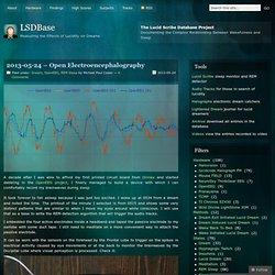 2013-05-24 – Open Electroencephalography