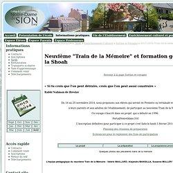 2013-2014 Train de la mémoire