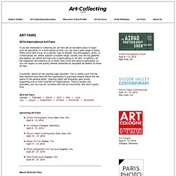 2012 Art Fairs - International Art Fairs