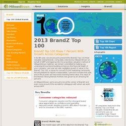 2013 BrandZ Top 100