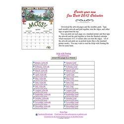 2013 Calendar Main Page
