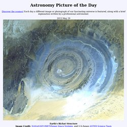 2013 May 19 - Earths Richat Structure