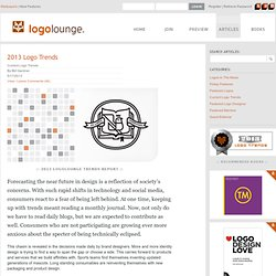 2013 Logo Trends on LogoLounge.com