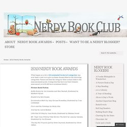 2013 Nerdy Book Awards