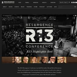 2013 Resurgence Conference