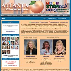 2013 STEMtech Conference
