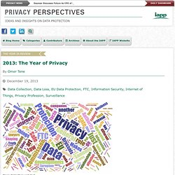 2013: The Year of Privacy