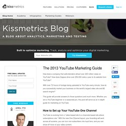 The 2013 YouTube Marketing Guide