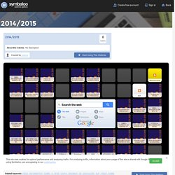 2014/2015- Symbaloo Gallery