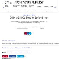 2014 AD100: Studio Sofield Inc.