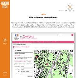 2014 : Mise en ligne du site GéoRisques