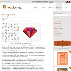2014 Logo Trends on LogoLounge.com