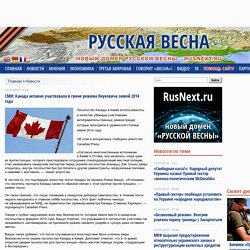 СМИ: Канада активно участвовала в смене режима Януковича зимой 2014 года