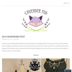 2014 Wardrobe Post