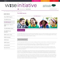 2014 WISE Awards