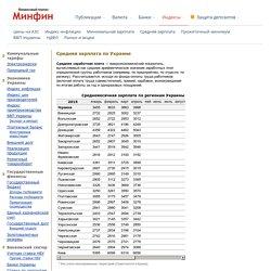Средняя зарплата (Украина) 2015