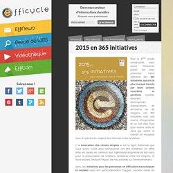 2015 en 365 initiatives