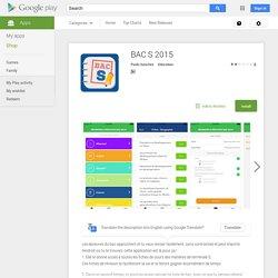 BAC S 2015