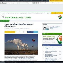 2015, année de tous les records climatiques