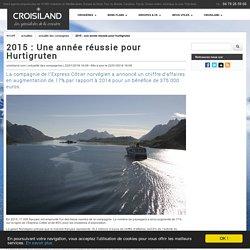 2015 : Une année réussie pour Hurtigruten