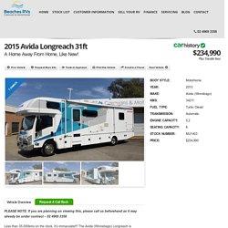 2015 Avida Longreach 31ft