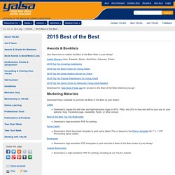 2015 YALSA Best of the Best