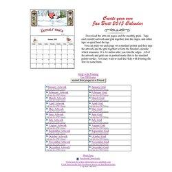 2015 Calendar Main Page