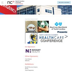 2015 Health Care Conference - NC Chamber