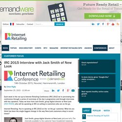 IRC 2015 Interview with Jack Smith of New Look