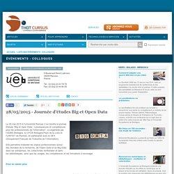 28/05/2015 - Journée d'études Big et Open Data