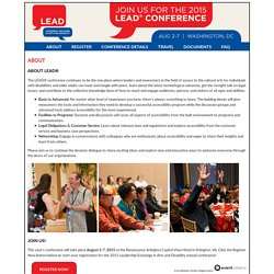 2015 LEAD Conference