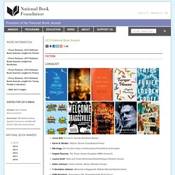 2015 National Book Awards