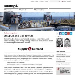 2015 Oil and Gas Trends