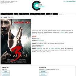 Ip Man 3 (2015) online o descargar gratis HD