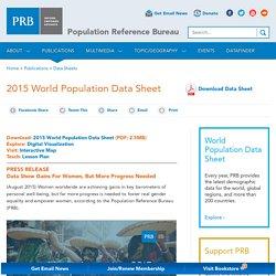 2015 World Population Data Sheet